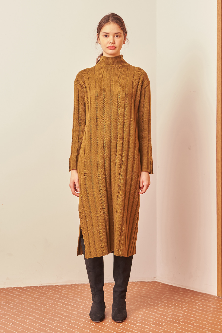 유라고 URAGO a muse knit dress