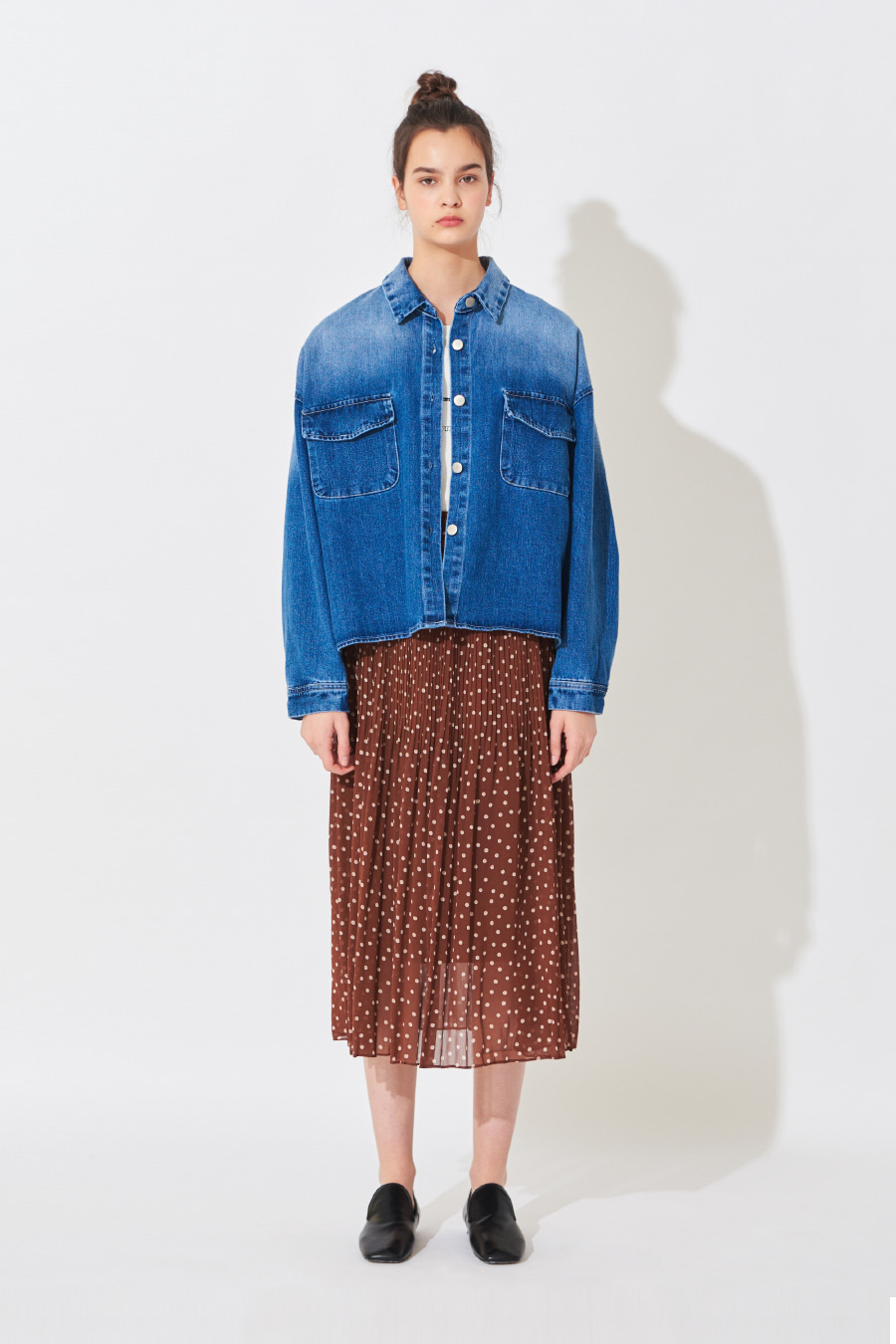 유라고 URAGO Kan O Buffett Denim Jacket