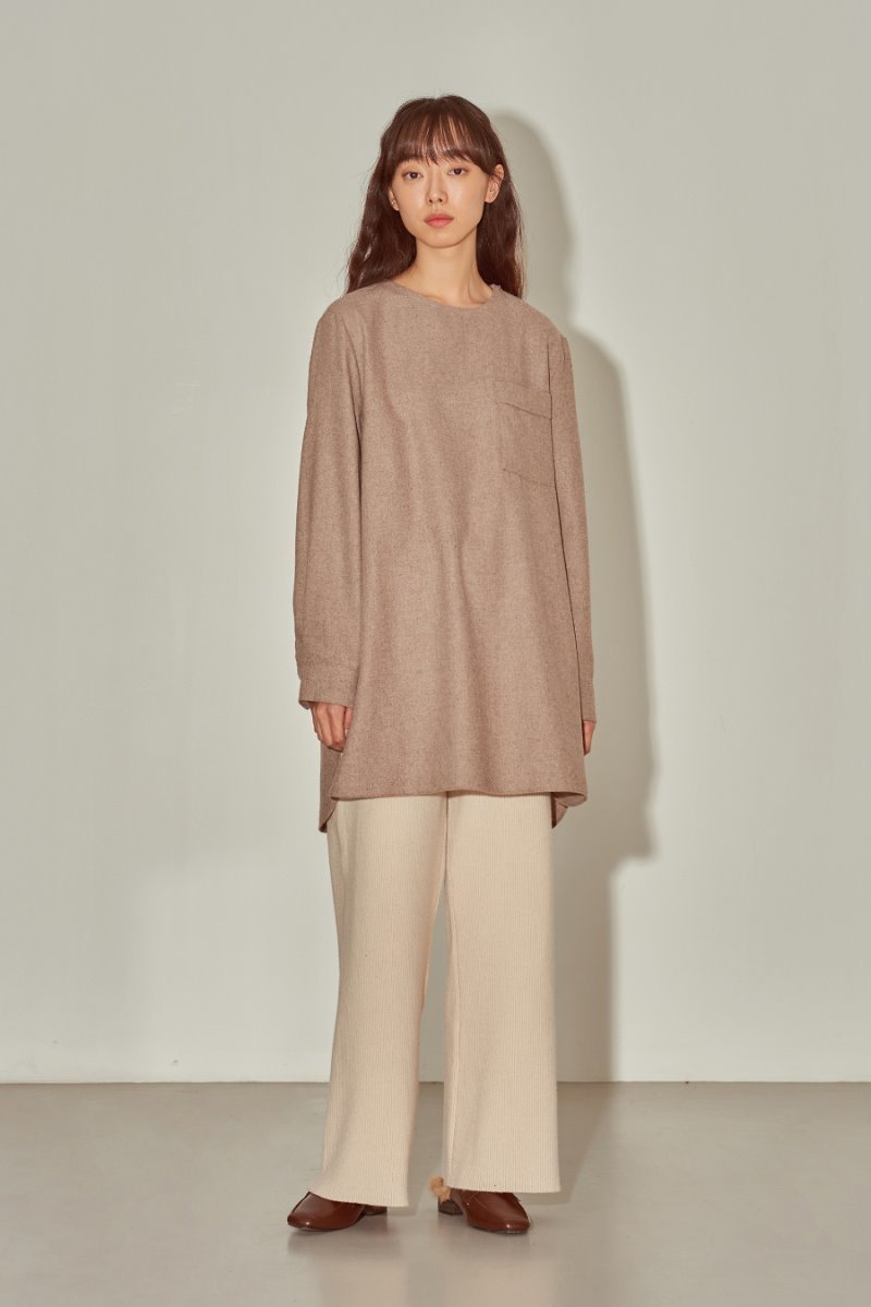 유라고 URAGO Wide knit pants